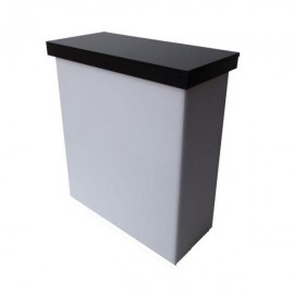 Mueble caja tapizado