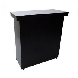 Mueble caja tapizado en L