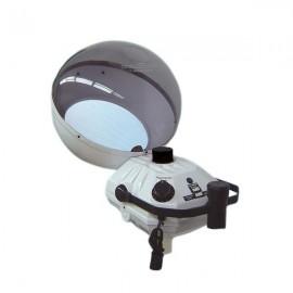 Vaporizador de casco con reloj automático