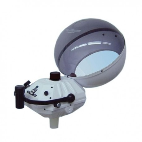 Vaporizador de casco con alarma