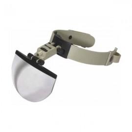 Lupa binocular manos libres 1 led