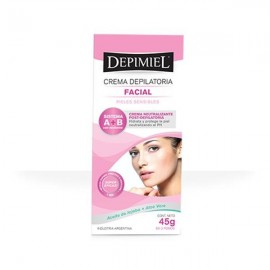 Crema depilatoria facial A + B